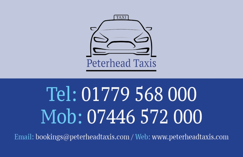 peterhead-taxis-business-card